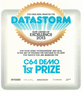 Diploma 271x300 REVOLVED reached the top at Datastorm!