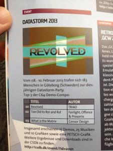 mag 225x300 REVOLVED featured in german magazine!